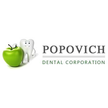 Popovich Dental - Dentist - Crown Point, IN - Logo